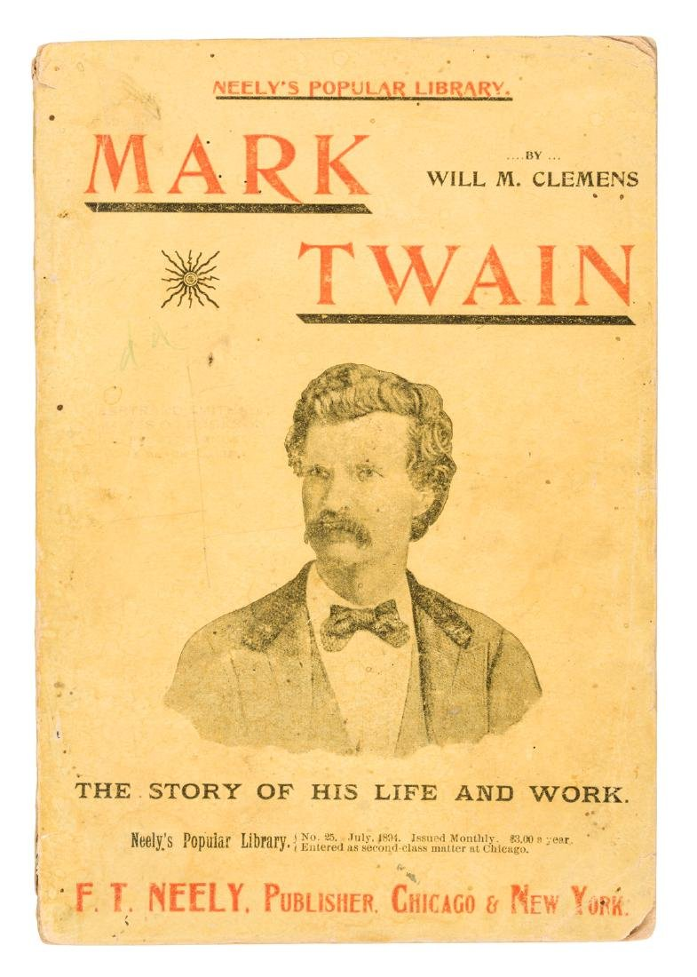 Mark Twain His Life and Work 1894