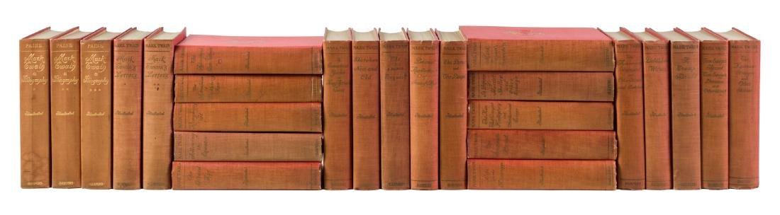 Writings of Mark Twain 25 volumes