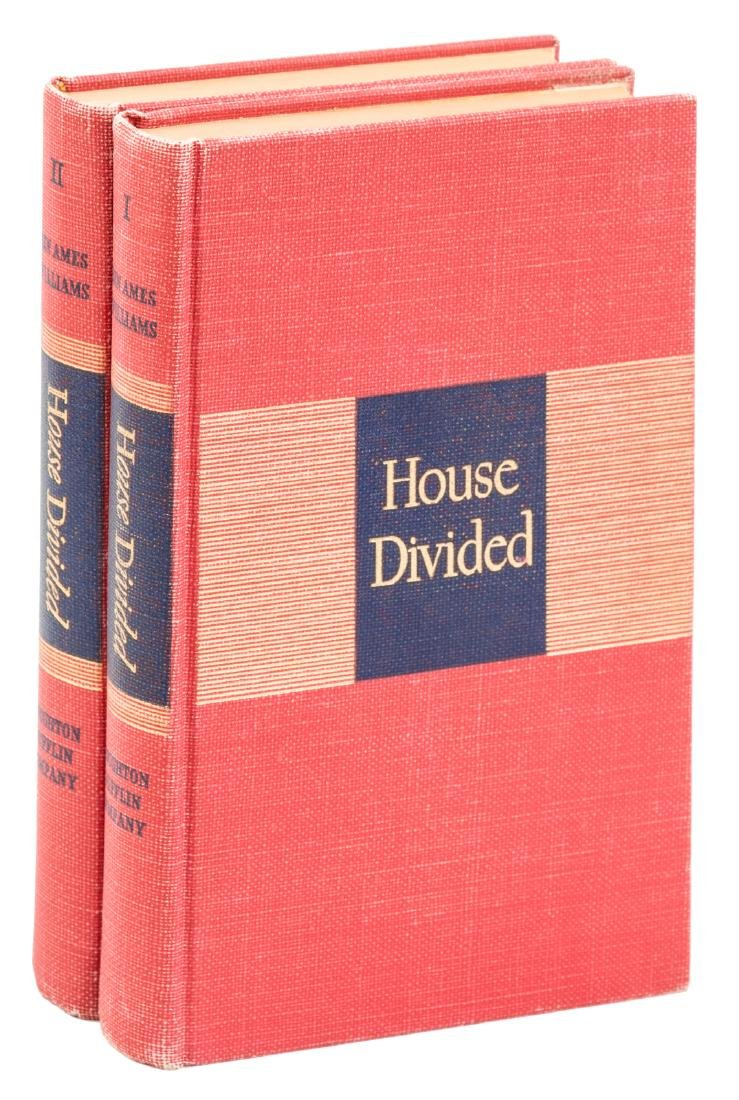 Ben Ames William House Divided 1st Edition