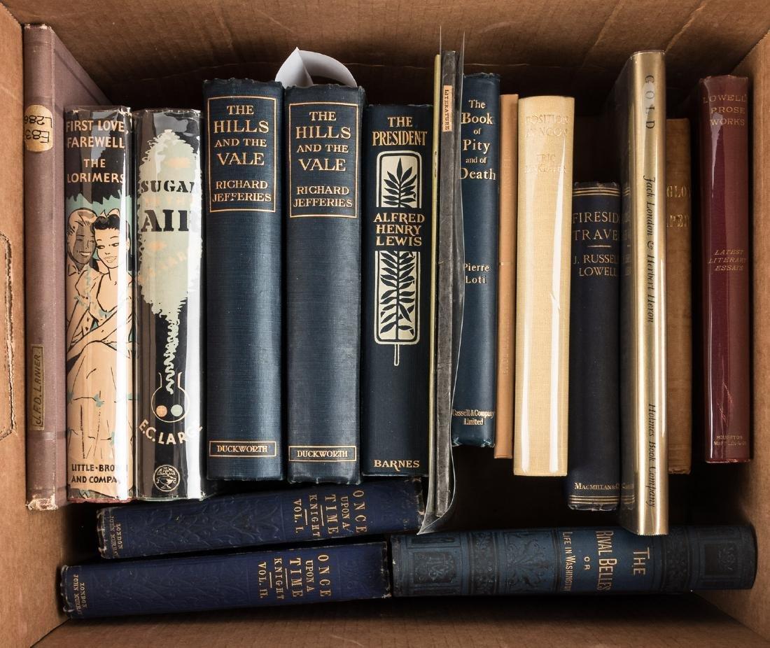 Eighteen volumes of literature