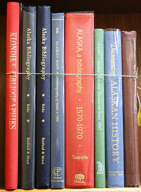 1004: Lot of 9 Alaska Bibliographies
