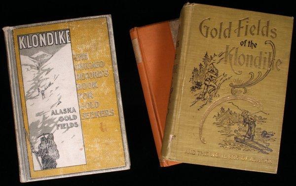 1007: Lot of 3 books on Alaska and the Klondike
