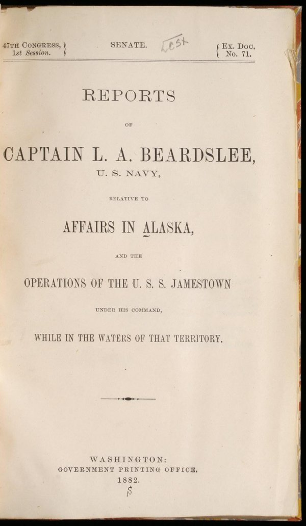 1024: Reports of Captain L. A. Beardslee, U.S. Navy, re