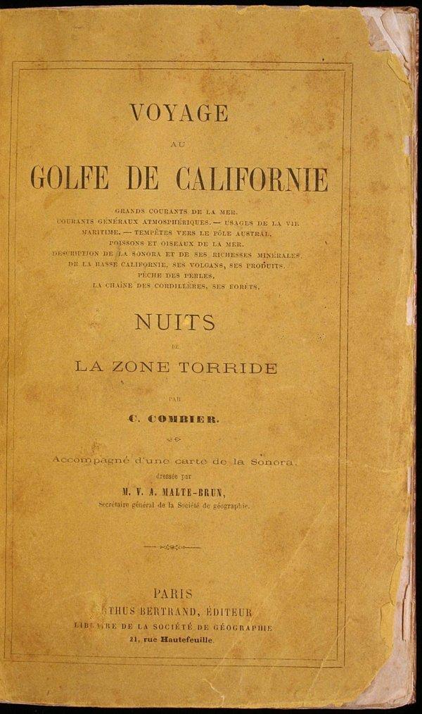 1215: Voyage au Golfe de Californie: Grands Courants de