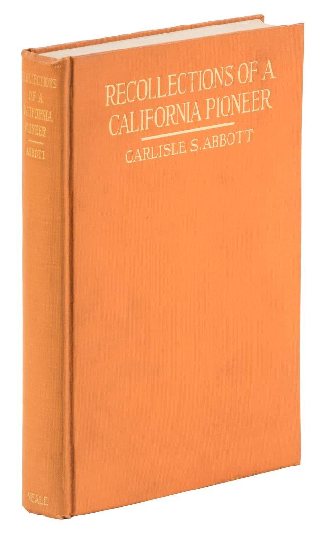 Abbott's Recollections of a California Pioneer