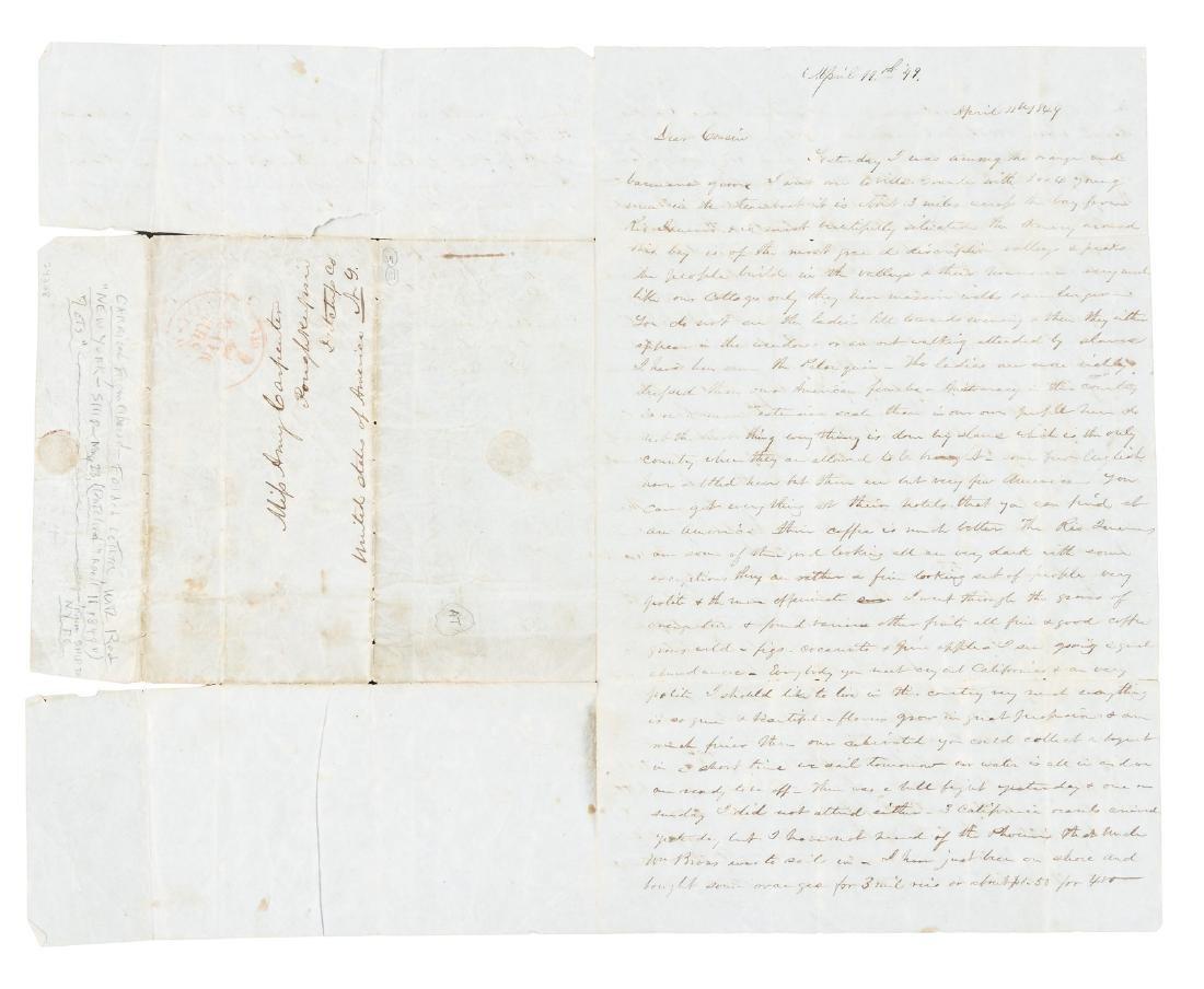 1849 New Yorker admires slavery in Brazil