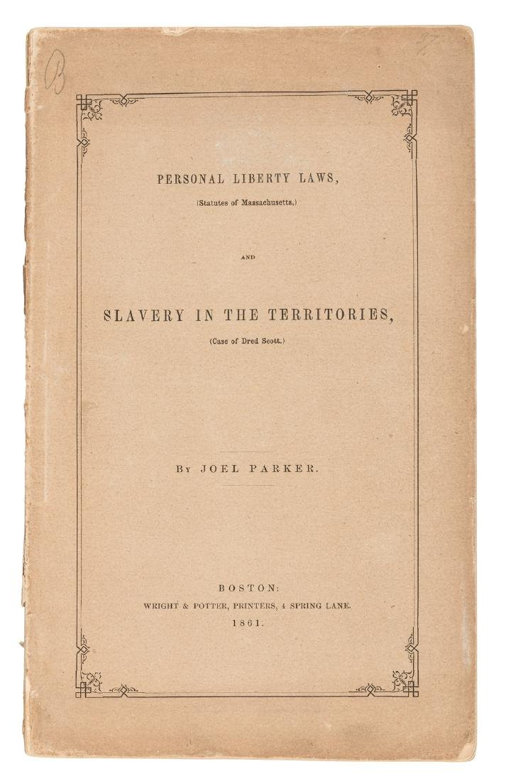 Slavery in the Territories 1861
