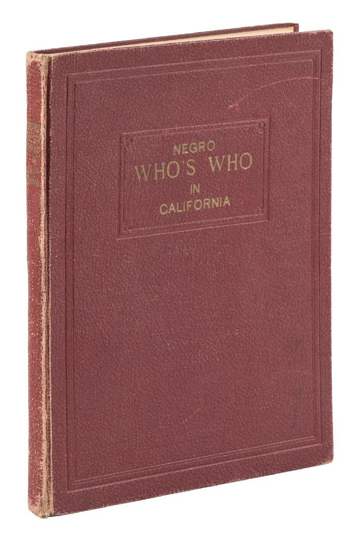 1948 Negro Who's Who in California