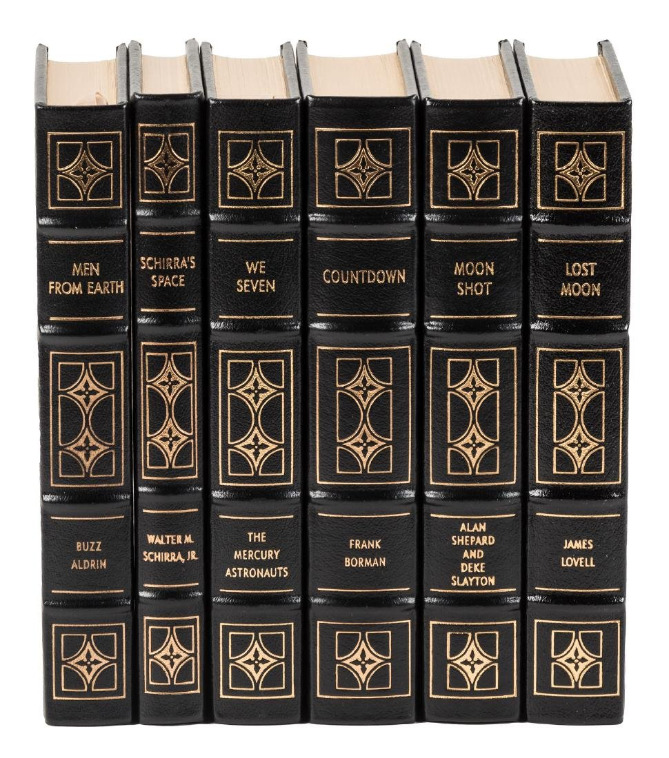 Easton Press Astronauts Library - signed