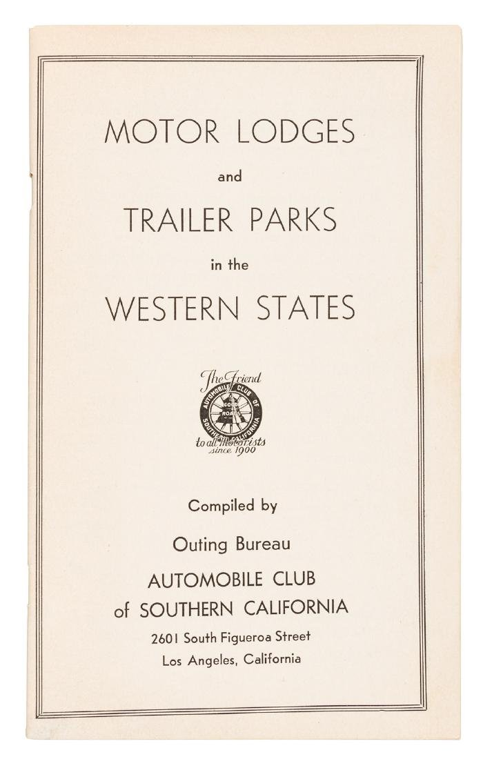 Motor lodges and trailer parks in the West