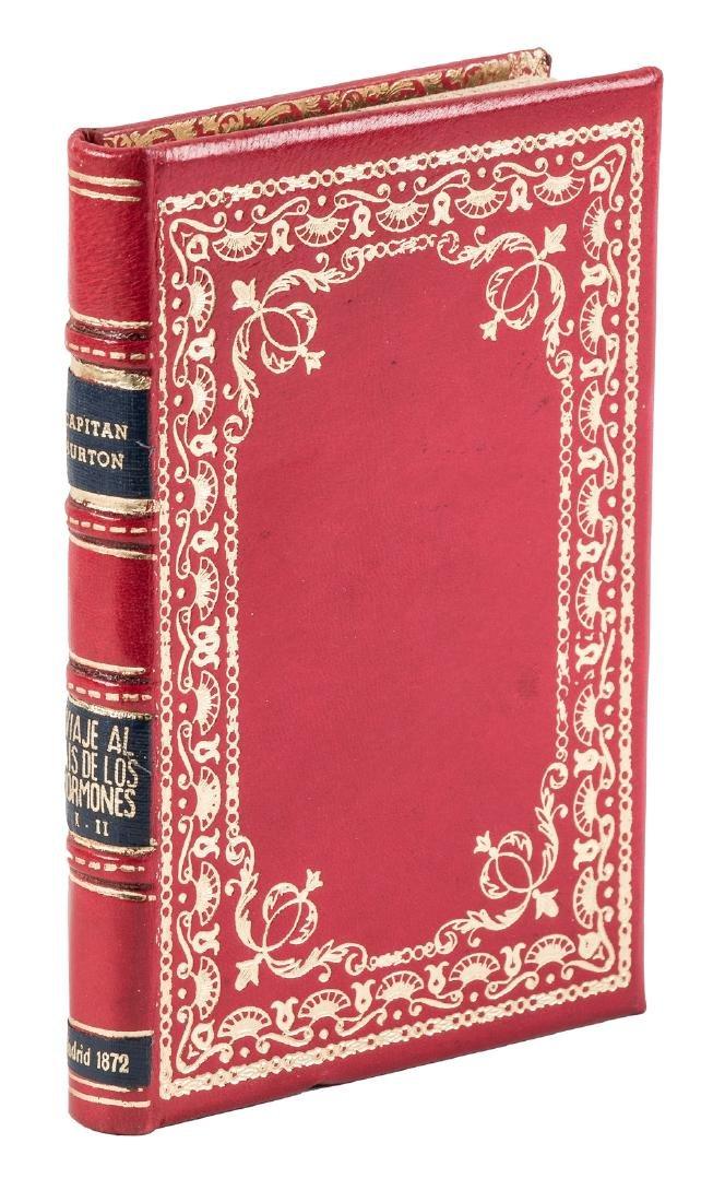 Burton visits the Mormons, Spanish edition 1872