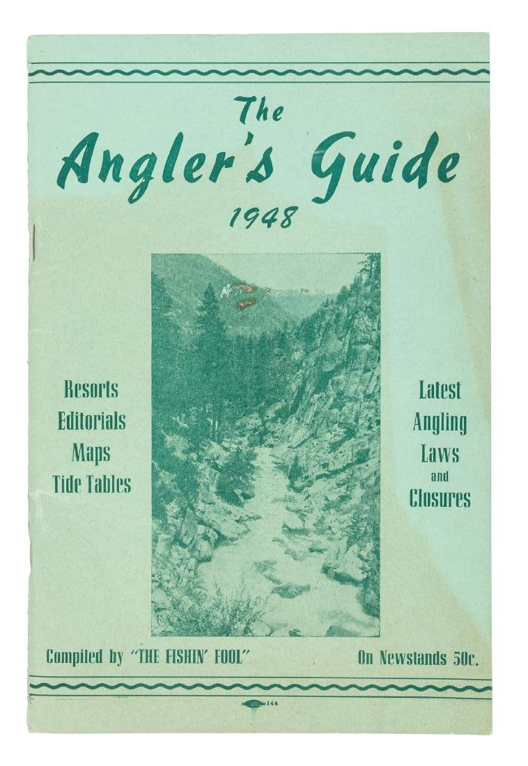 Northern California Angler's Guide 1948