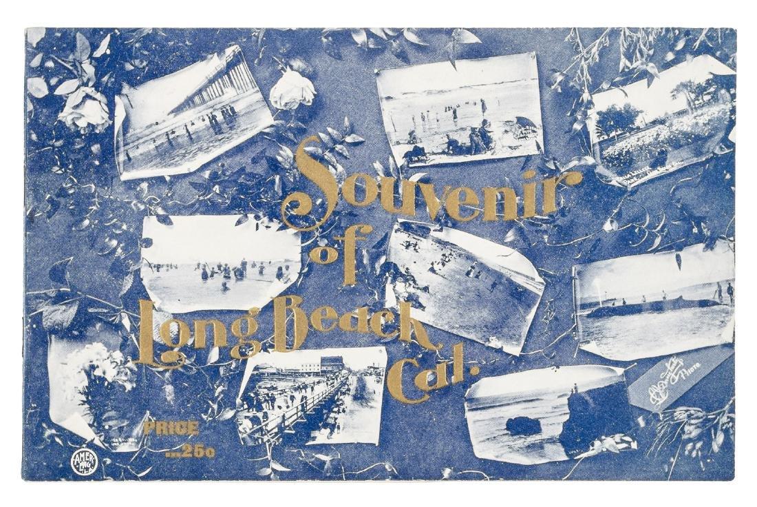Rare pictorial souvenir of Long Beach California 1900
