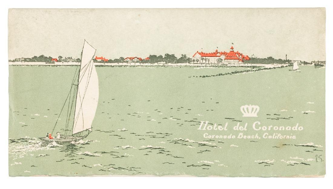 Rare brochure for Hotel del Coronado, San Diego, Cal.