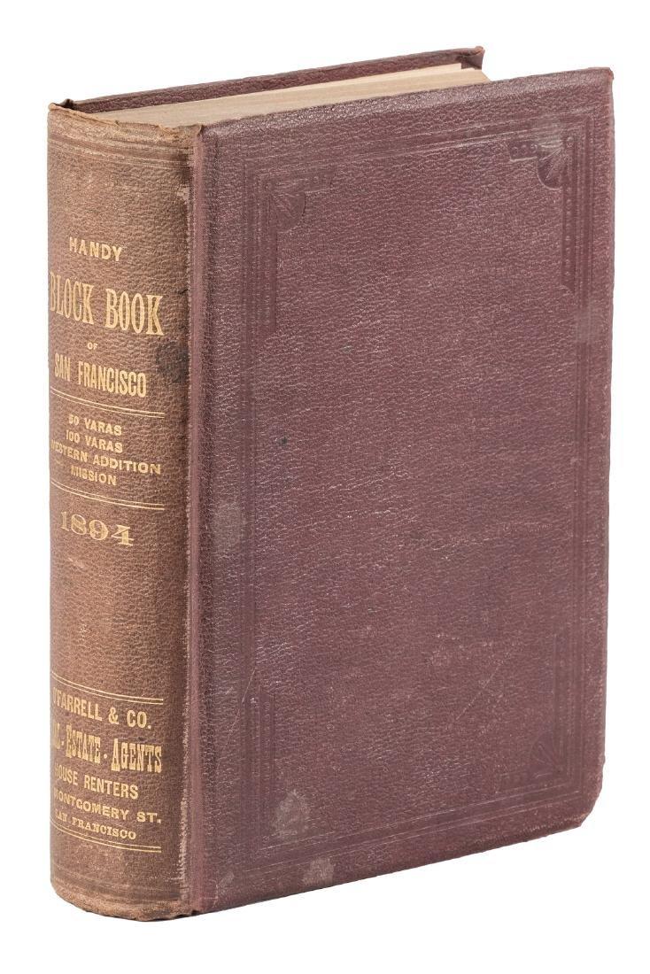 San Francisco Handy Block Book 1894