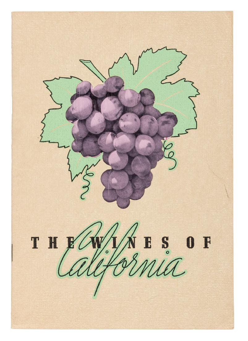 Wines of California from B. of A.
