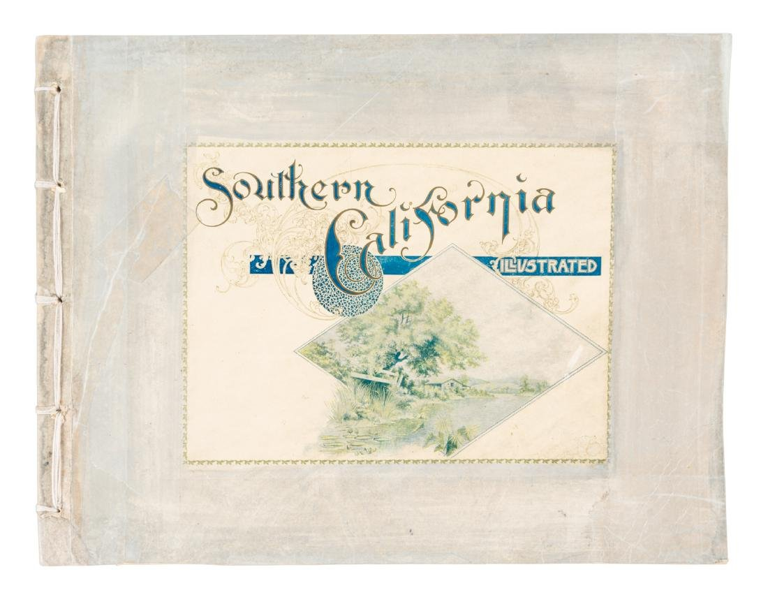 Photo book of Southern California c.1900
