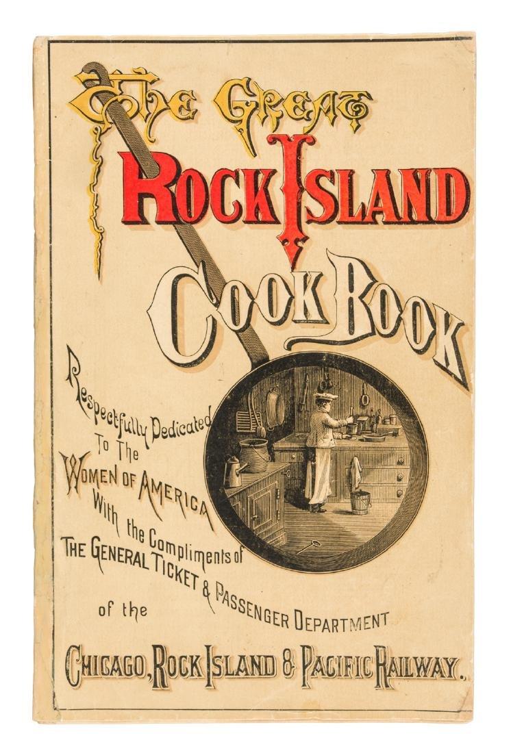 Rock Island Railway Cook Book 1883