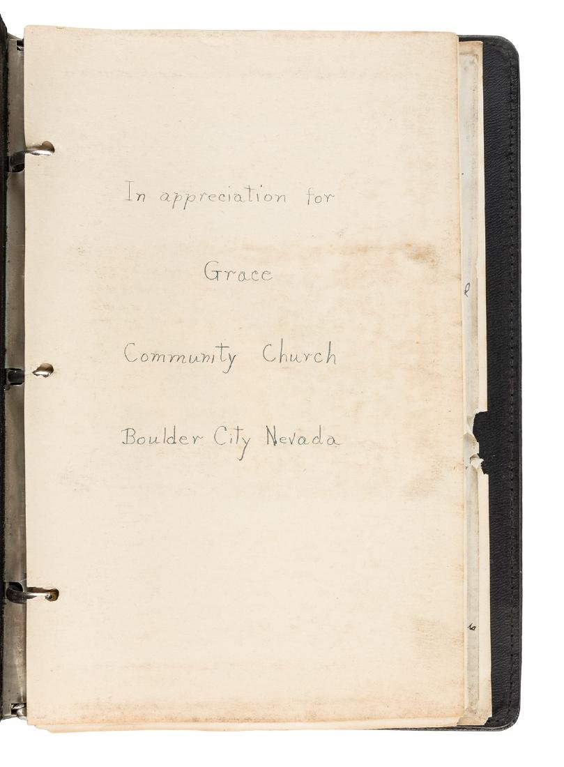 Letters from residents of Boulder City to Rev. William