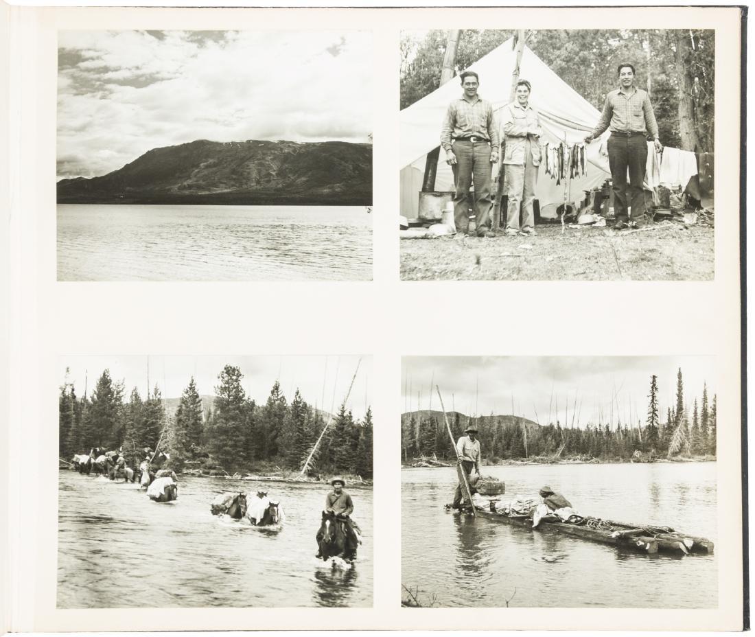 Photographs of British Columbia Hunting trip 1946
