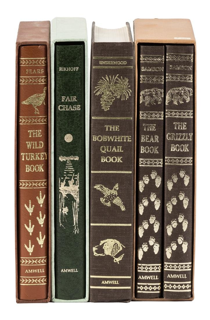 Four hunting titles from the Amwell Press