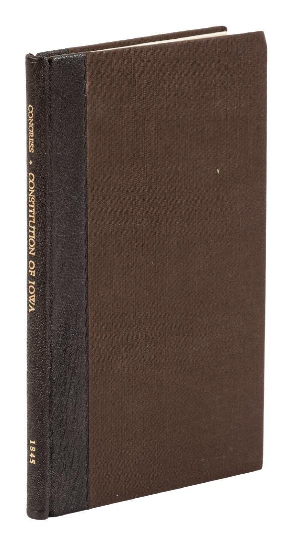 Constitution of Iowa, 1844
