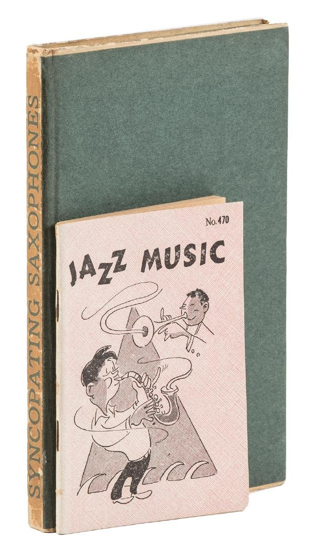 2 early books of tribute to Jazz music, 1925-1927