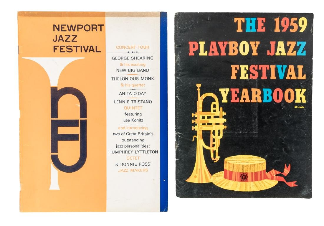 1959 Yearbook of 1st Playboy Jazz Festival