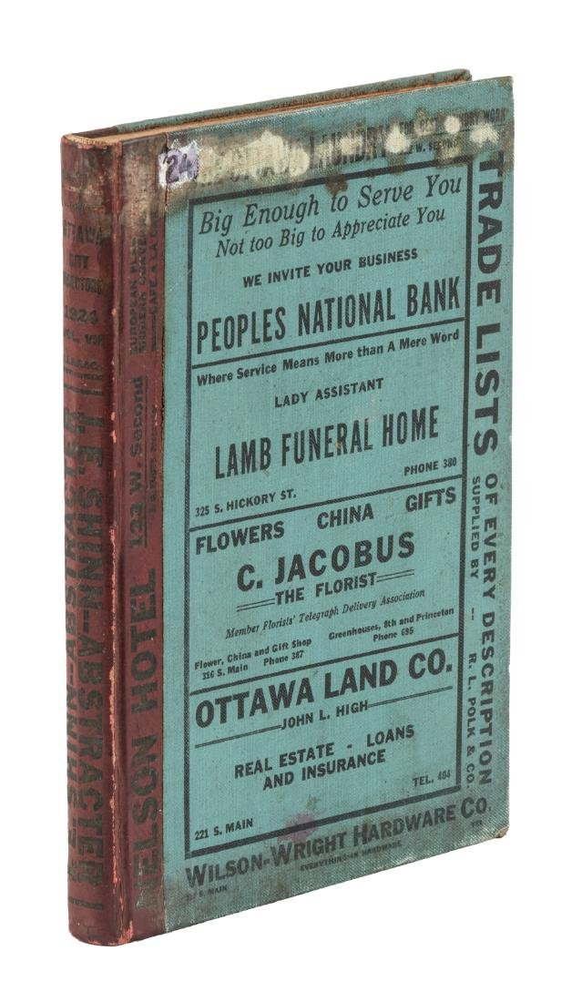Ottawa Kansas City Directory 1924