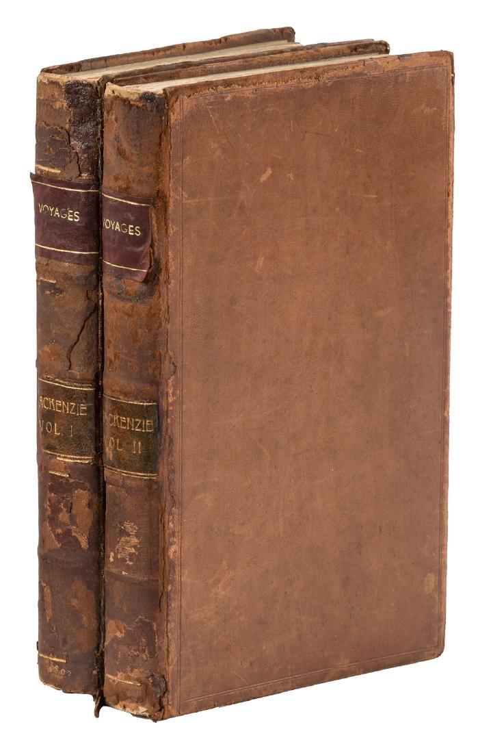 Mackenzie's Voyages rare 2-volume issue 1802
