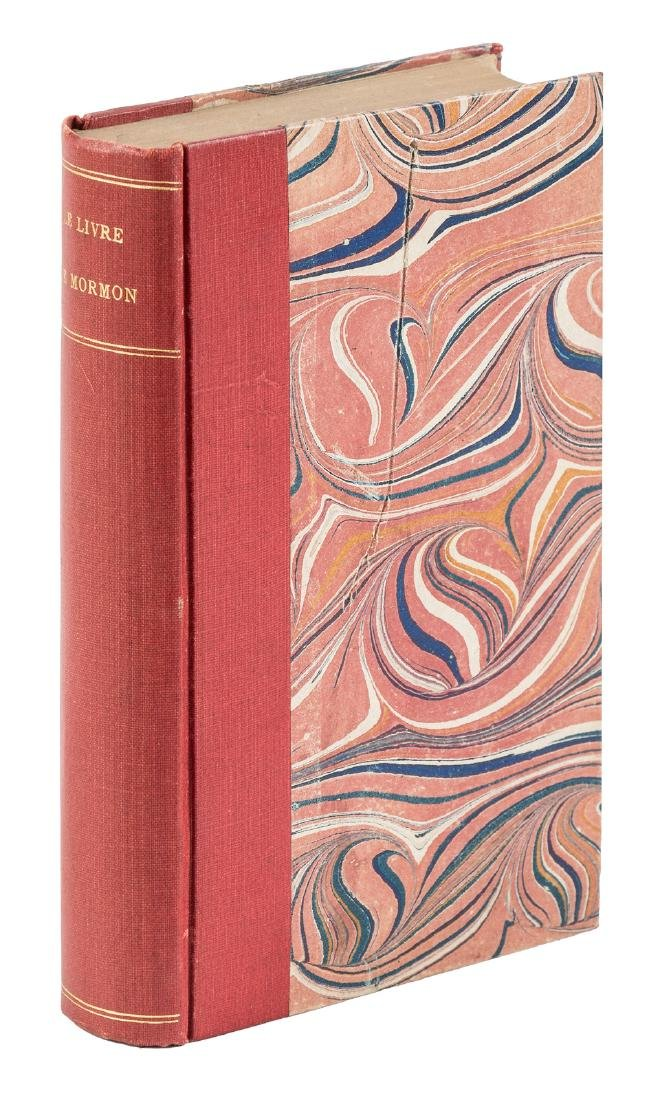 First French edition of the Book of Mormon