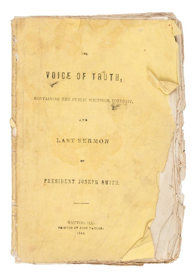 Joseph Smith's final sermon the King Follett discourse