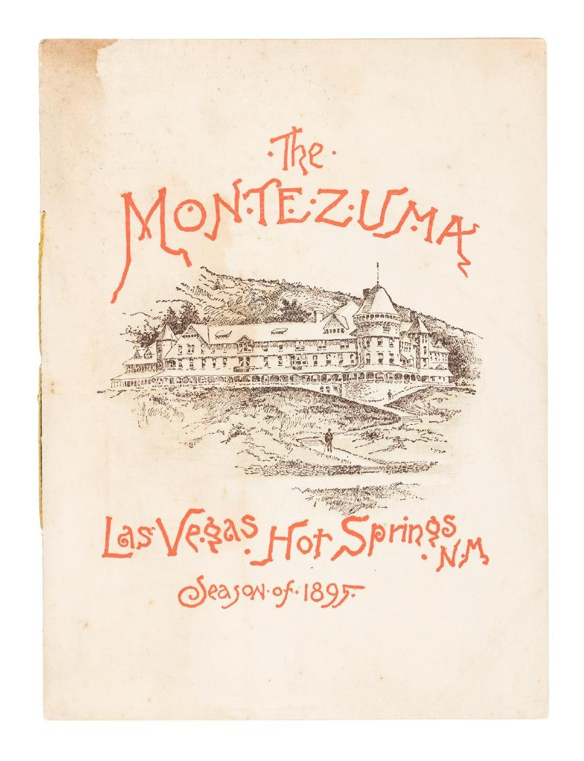 Hot springs of Las Vegas, New Mexico 1895