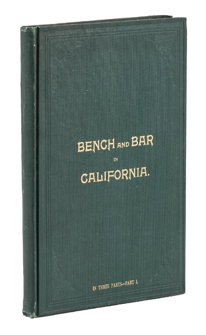 Bench and Bar in California Part 1
