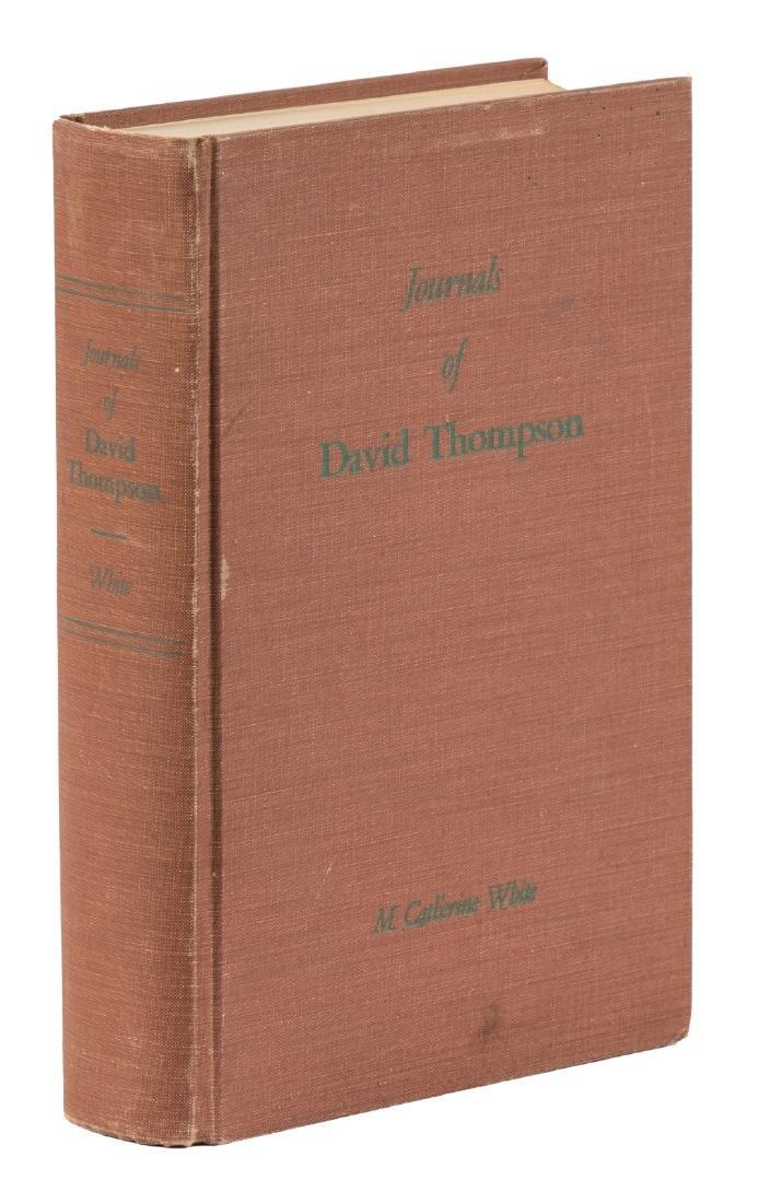 David Thompson's Journals Relating to Montana 1/500