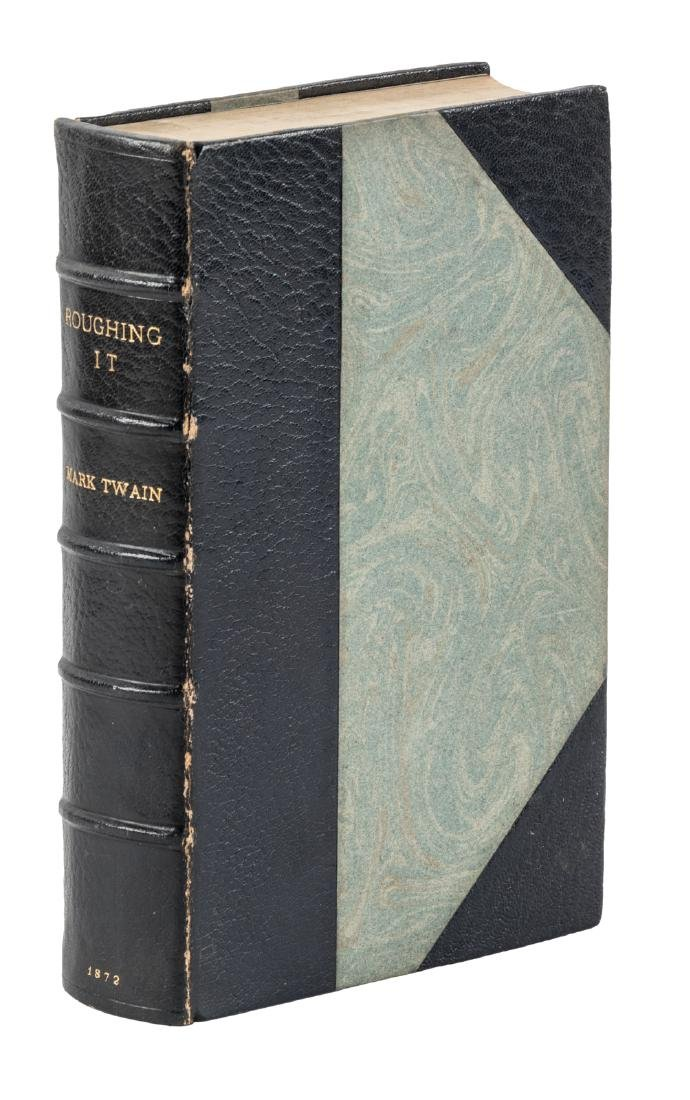 Mark Twain Roughing It First Edition finely bound