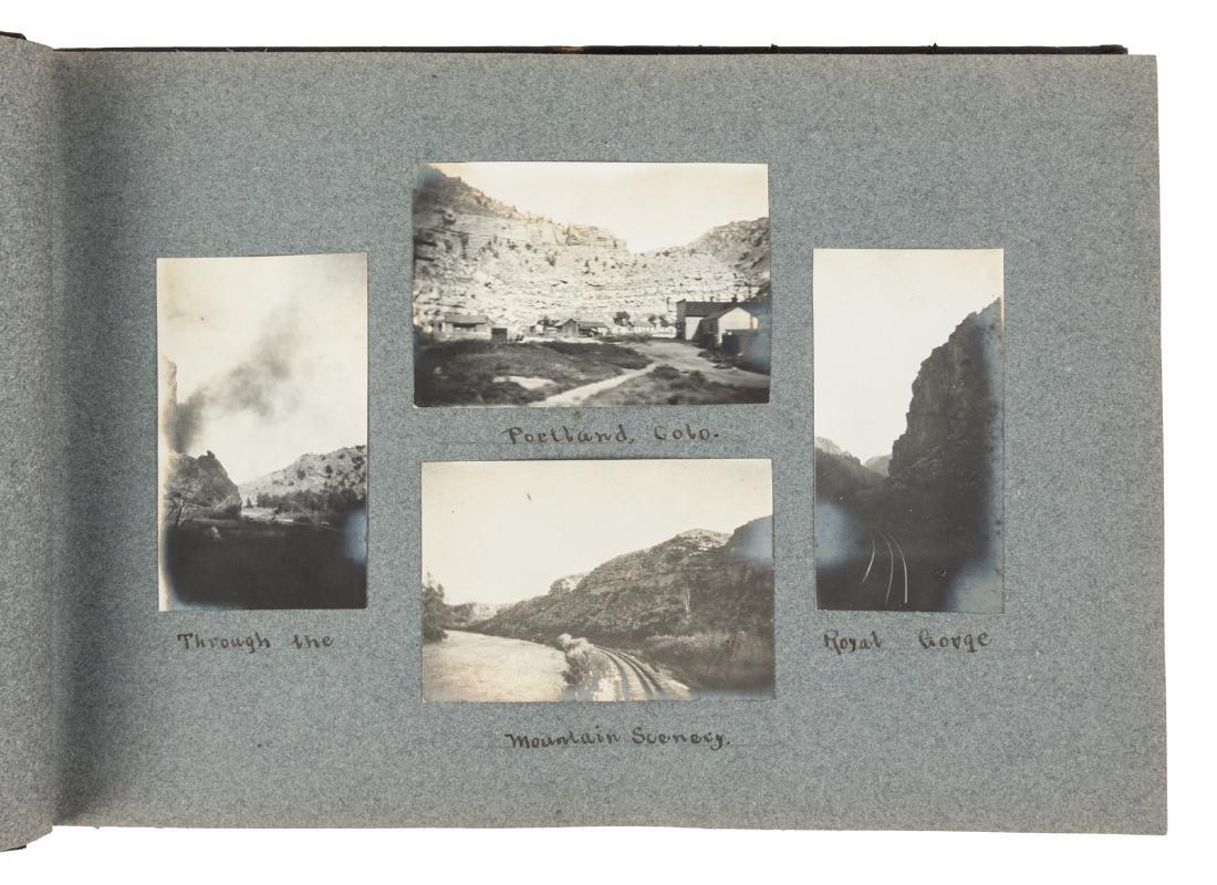 Photo albums of trip to Asia 1910
