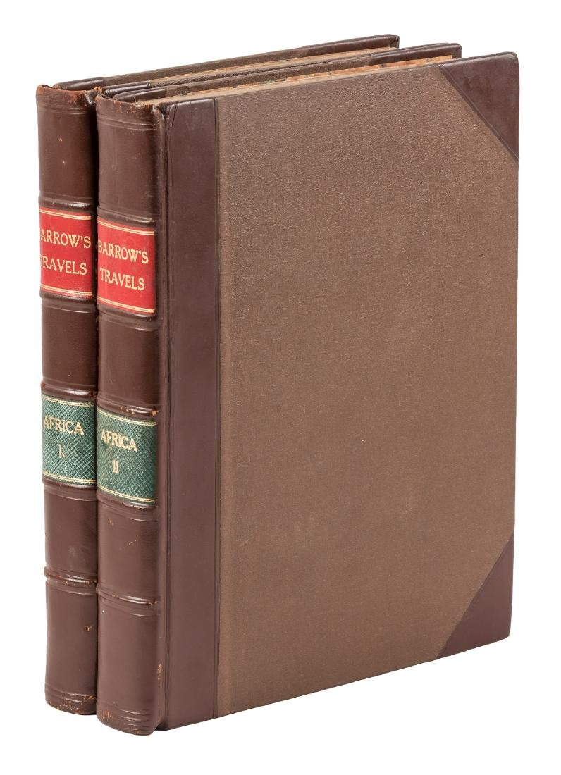 Barrow's Travels into South Africa 1st edition 1801-4