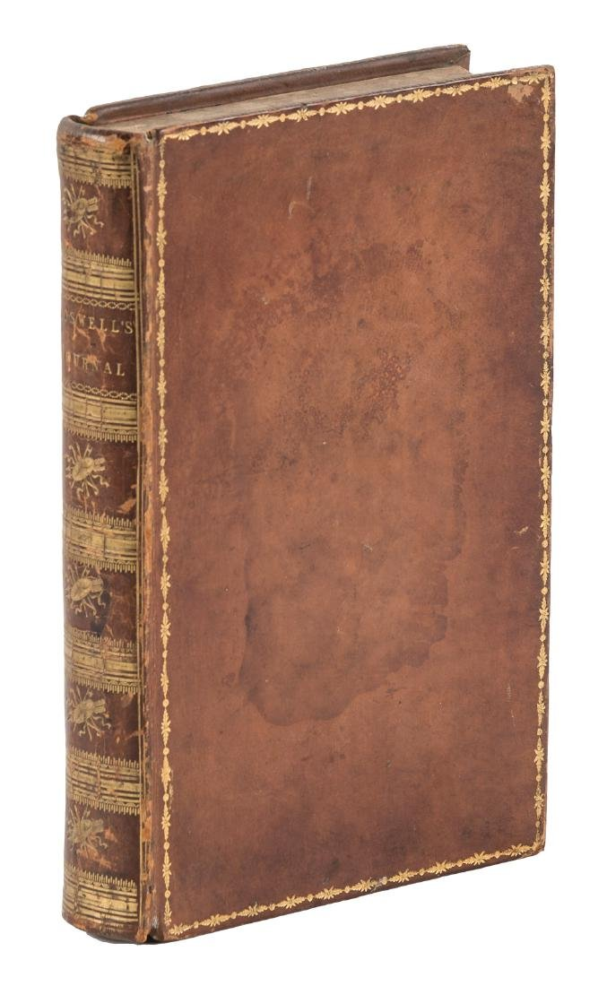 Johnson's Tour to the Hebrides early American edition