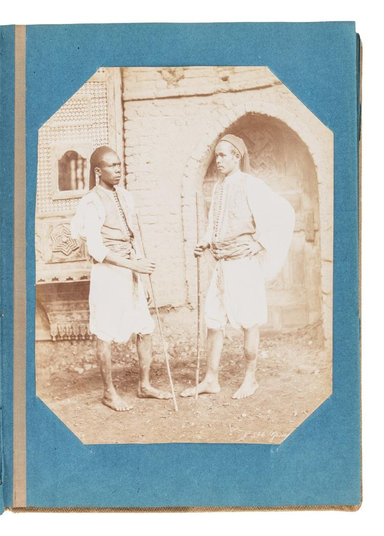 Superb album of albumen photographs of Egypt - 2
