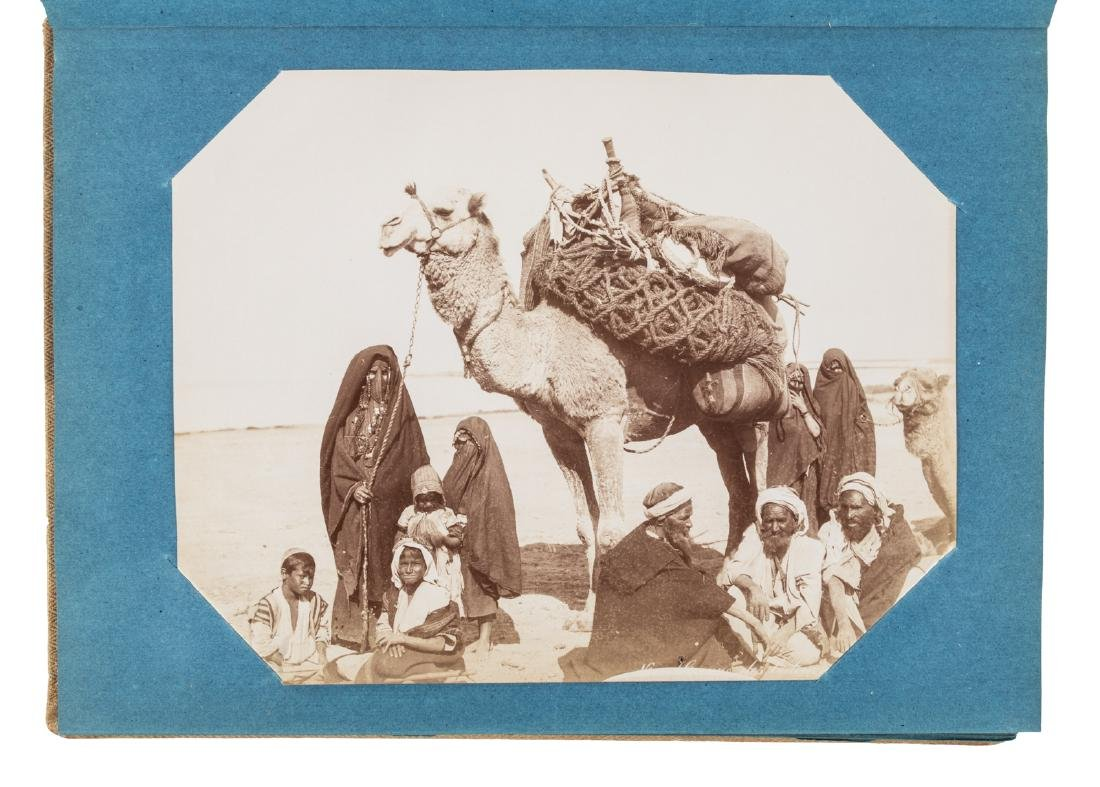 Superb album of albumen photographs of Egypt - 3