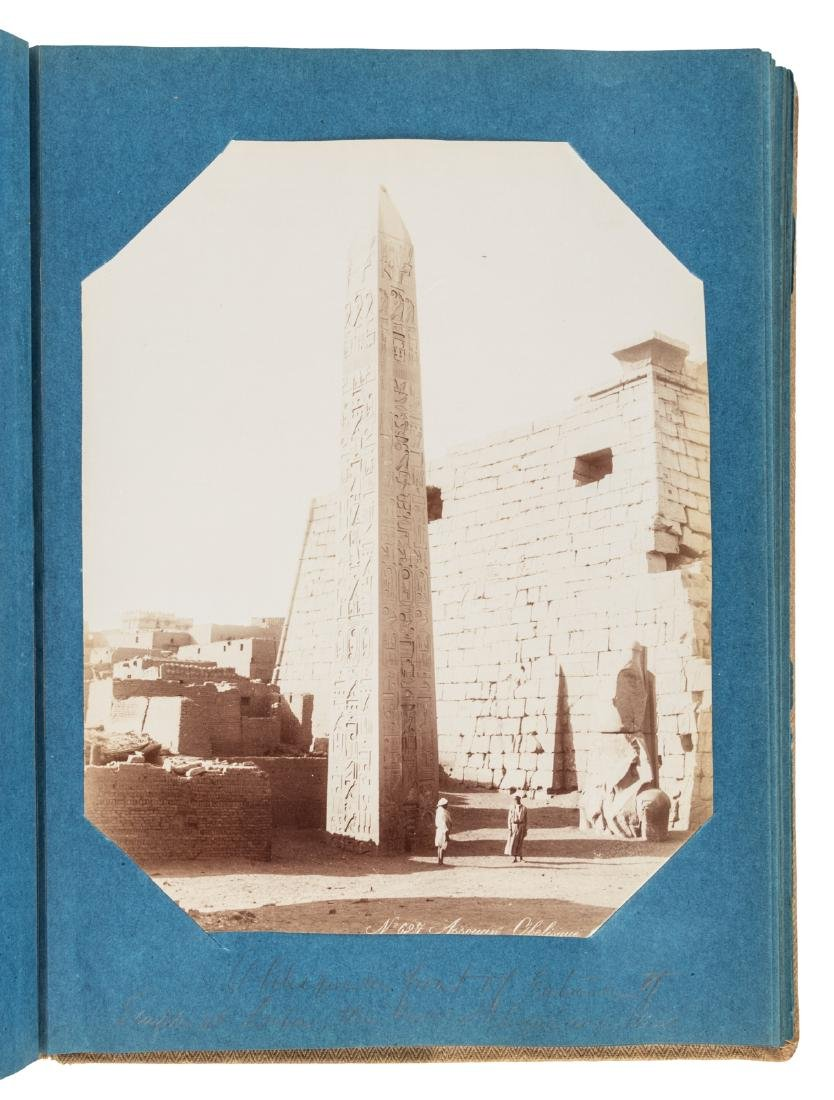 Superb album of albumen photographs of Egypt - 6