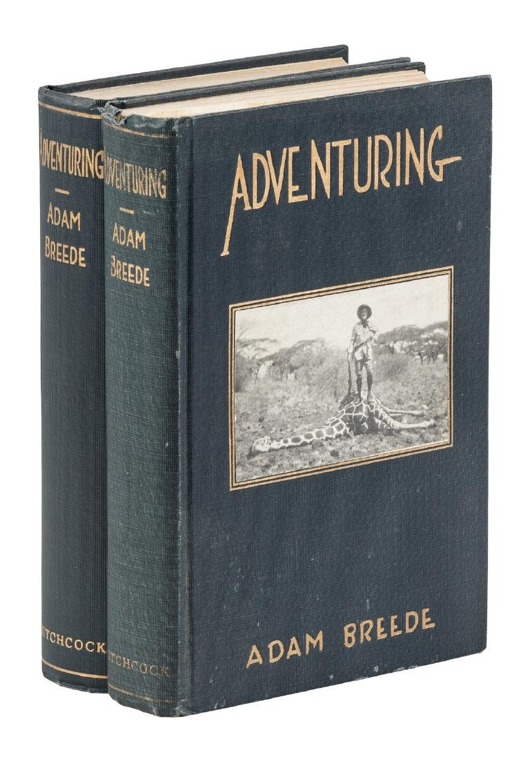 Adam Breede's Adventuring - 2 copies, one signed