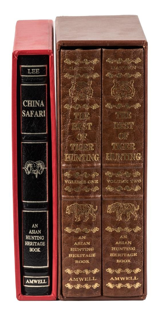 2 titles from The Asian Hunting Heritage Book series by