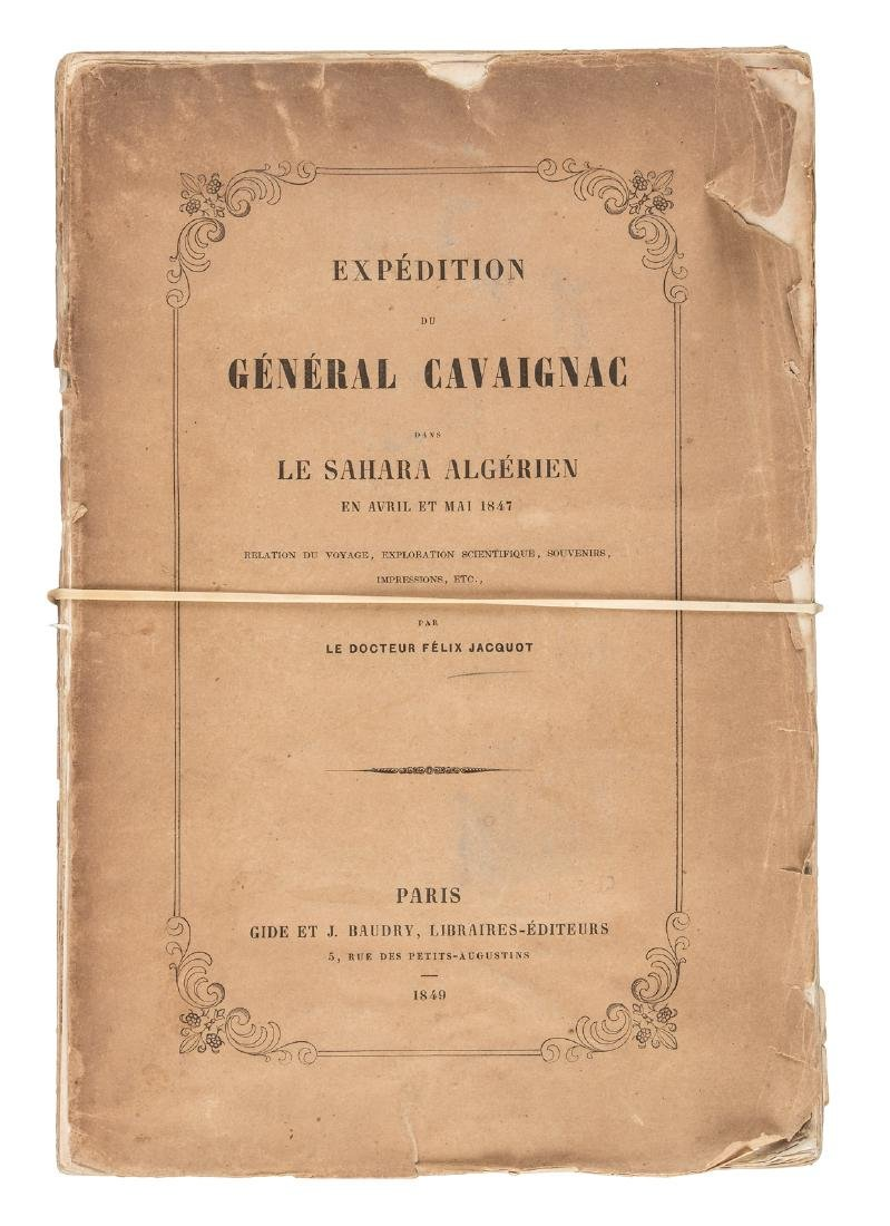 Mid-19th century expedition to the Algerian Sahara
