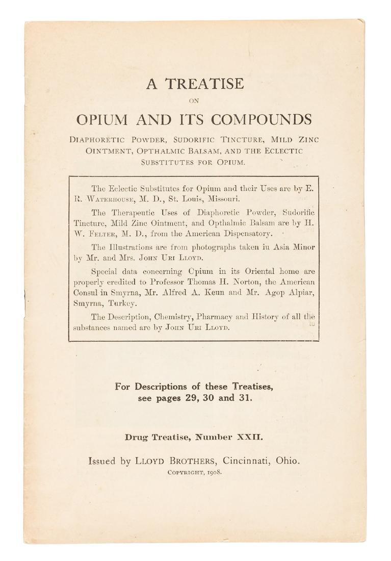 Treatise on opium 1908