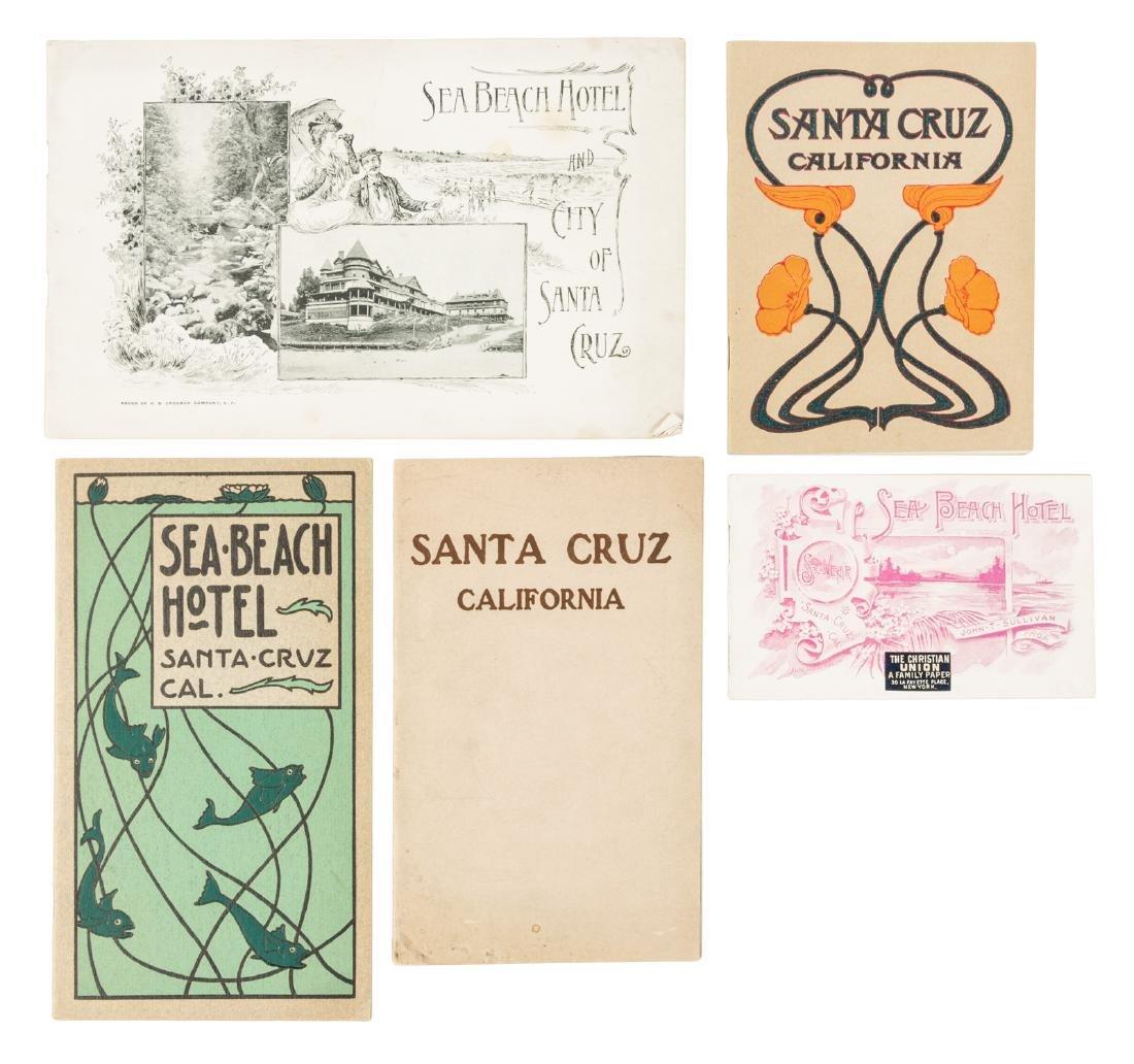 Santa Cruz California ephemera