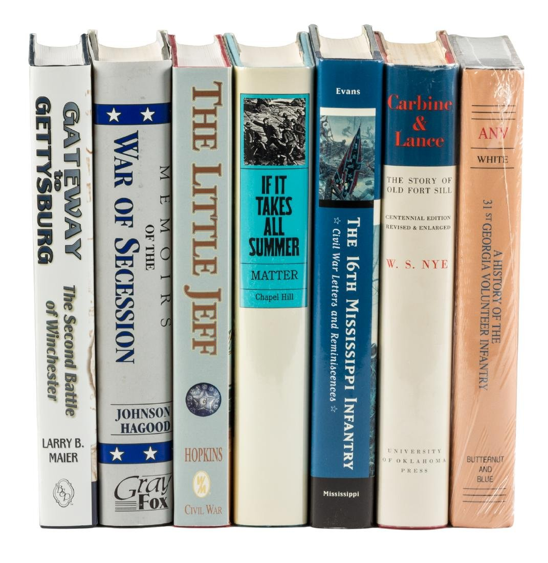 Seven volumes on the Civil War