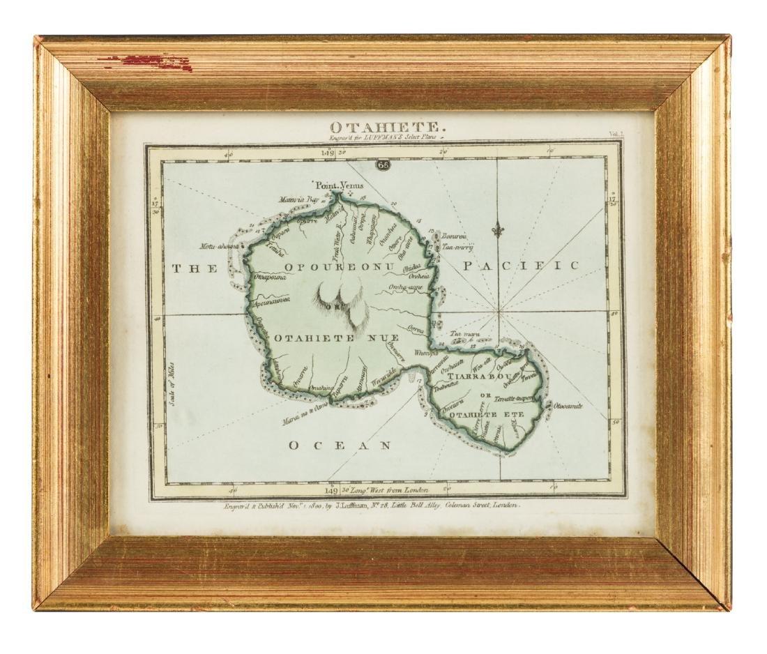 Charming little map of Tahiti 1900