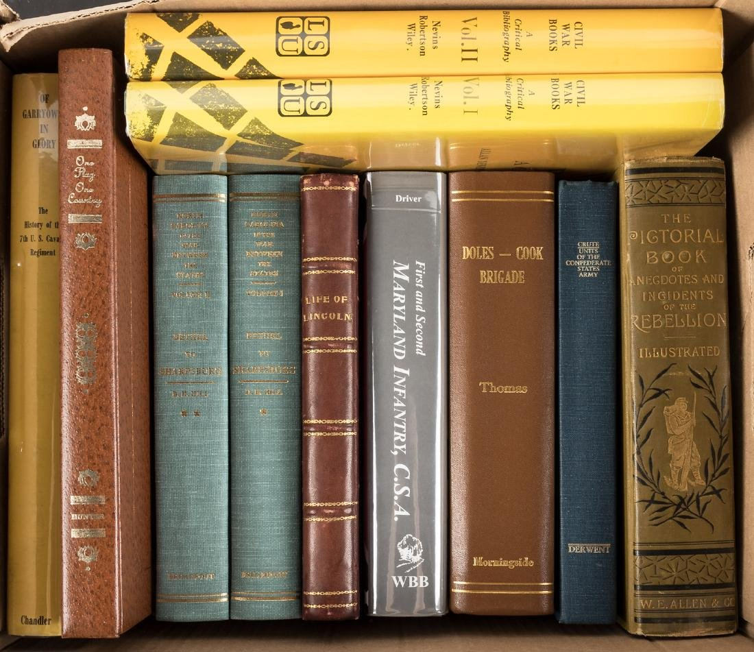 Eleven volumes on the Civil War